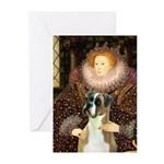 The Queen & her Boxer Greeting Cards (Pk of 20)