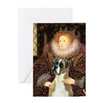 The Queen & her Boxer Greeting Card