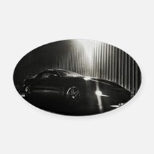 Pontiac Trans Am Night Oval Car Magnet