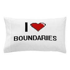 I Love Boundaries Digitial Design Pillow Case