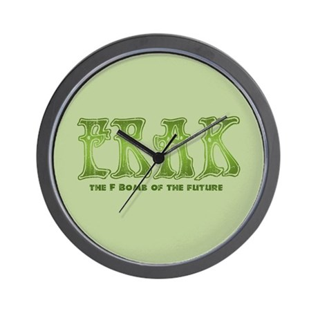 Frak Wall Clock