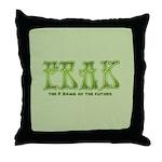 Frak Throw Pillow