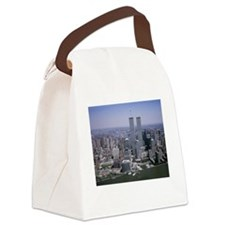 Funny Twin cities Canvas Lunch Bag