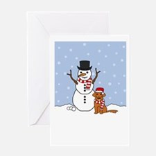 Toller Season's Best Greeting Card