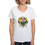 Abul Family Crest Women's V-Neck T-Shirt