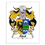Abul Family Crest Small Poster