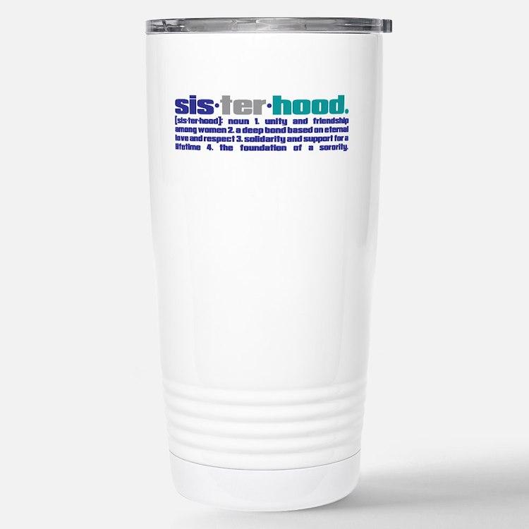 Sisterhood Defined Travel Mug