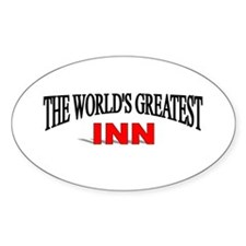 """The World's Greatest Inn"" Oval Decal"