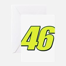 vr46blueline Greeting Cards