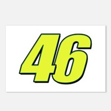 vr46blueline Postcards (Package of 8)