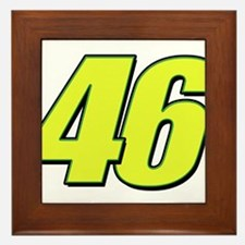 vr46blueline Framed Tile