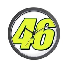 vr46blueline Wall Clock