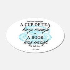 Tea Quote Wall Decal