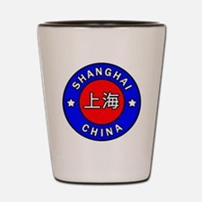 Shanghai China Shot Glass