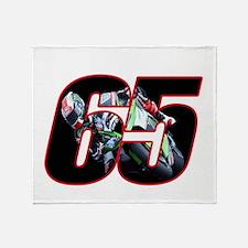 jr65ghost Throw Blanket