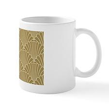 Art Deco Shell Gold Small Mugs