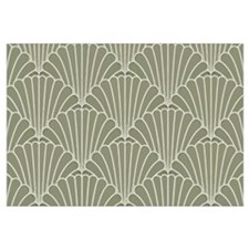 Art Deco Shell Sage