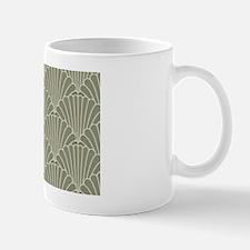 Art Deco Shell Sage Mug