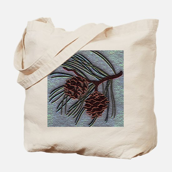 Funny Pinecone Tote Bag