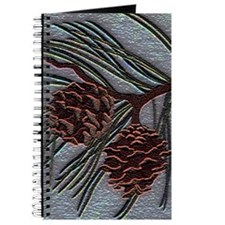 Cute Pinecone Journal