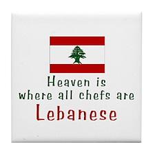 Lebanese Chefs Tile Coaster