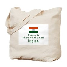 Indian Chefs Tote Bag