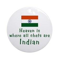 Indian Chefs Keepsake Ornament