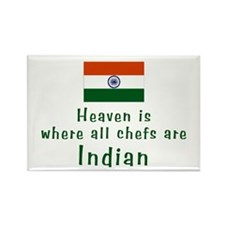 Indian Chefs Rectangle Magnet