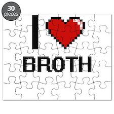 I Love Broth Digitial Design Puzzle