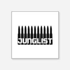 Junglist Black1 Sticker