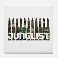 Junglist Camo1.png Tile Coaster