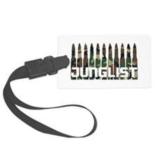 Junglist Camo1.png Luggage Tag