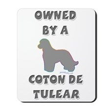 Coton Slvr Mousepad