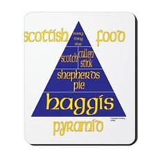 Scottish Food Pyramid Mousepad