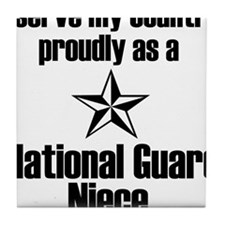 Serve NG Niece Tile Coaster