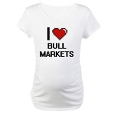 I Love Bull Markets Digitial Des Shirt