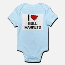 I Love Bull Markets Digitial Design Body Suit