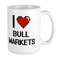 I Love Bull Markets Digitial Design Mugs