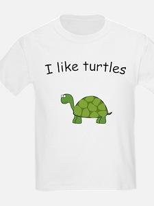 Cute I like turtles T-Shirt