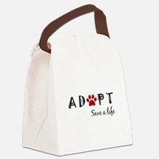 Cute Stop puppy mills Canvas Lunch Bag