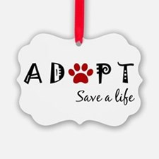 Funny Adopt Ornament