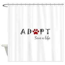 Unique Animal welfare Shower Curtain