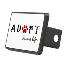 Cute Animal rescue Hitch Cover