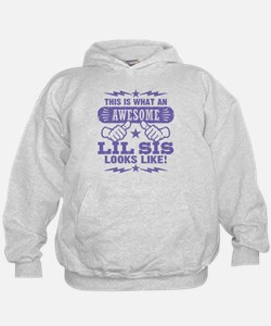 Awesome Little Sister Hoodie