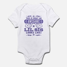 Awesome Little Sister Infant Bodysuit