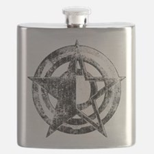 Metal Star Flask