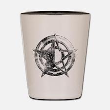 Metal Star Shot Glass