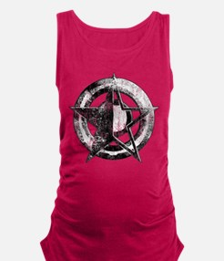 Metal Star Maternity Tank Top