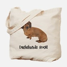 Daschshunds Rock Tote Bag