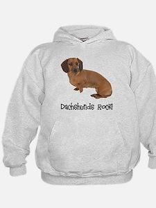 Daschshunds Rock Hoodie